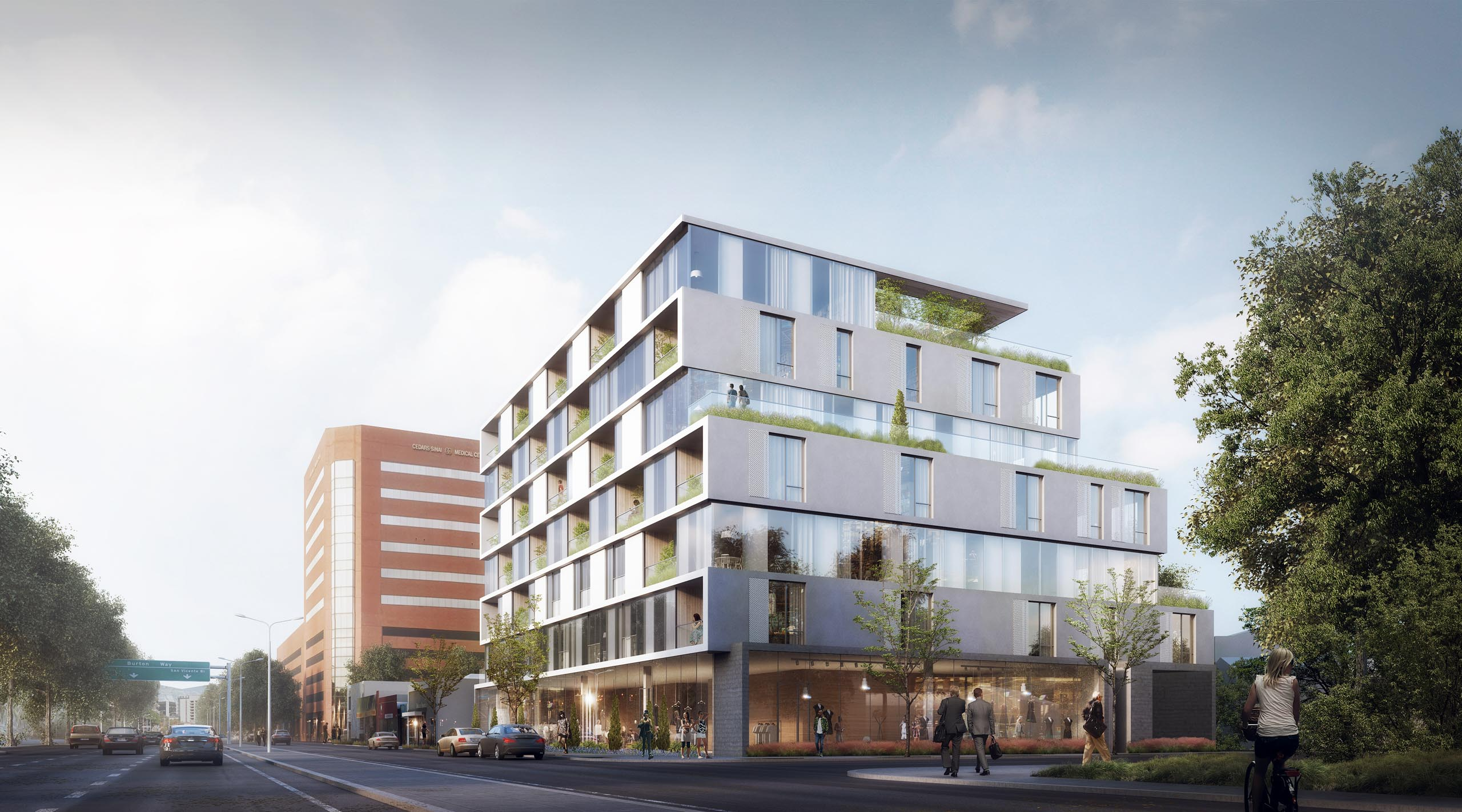 Beverly Grove mixed-use development could bring 53 apartments to San