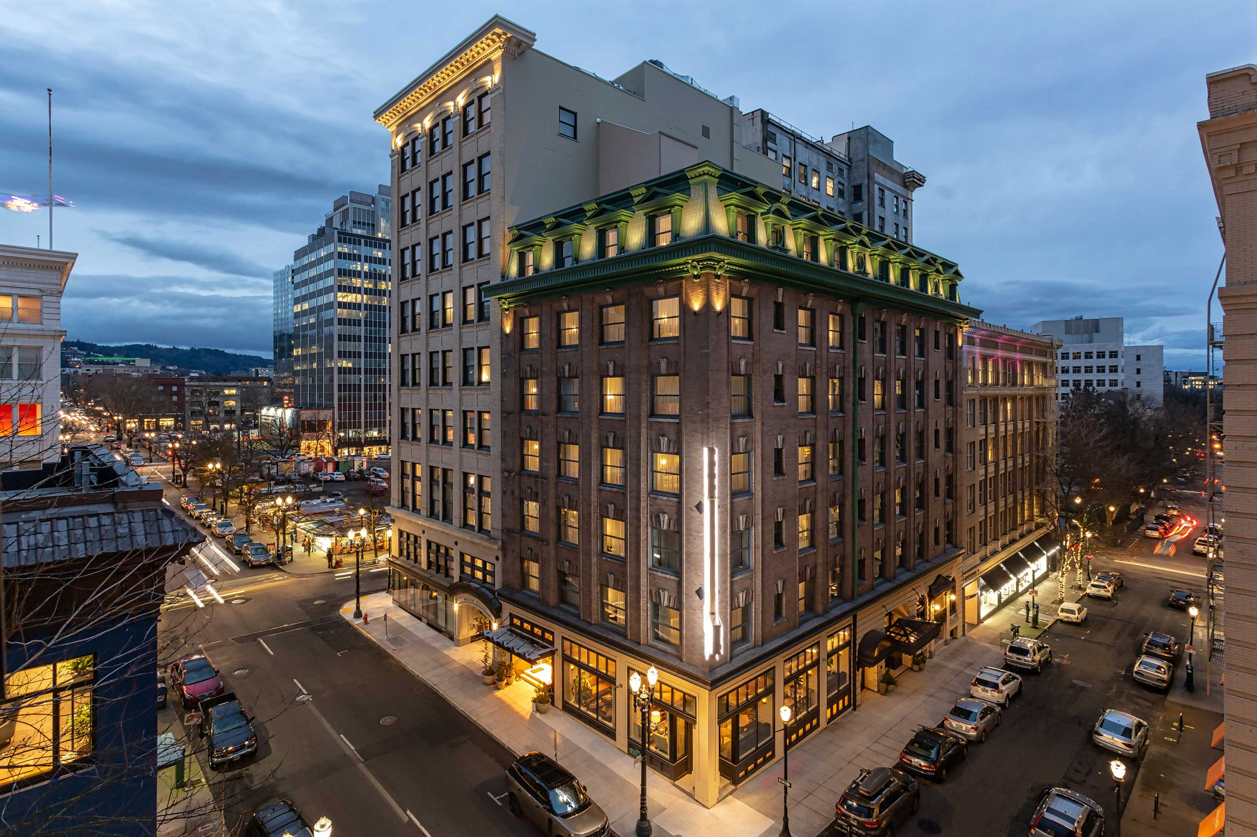 2 Historic Buildings Become One At Portland's Woodlark